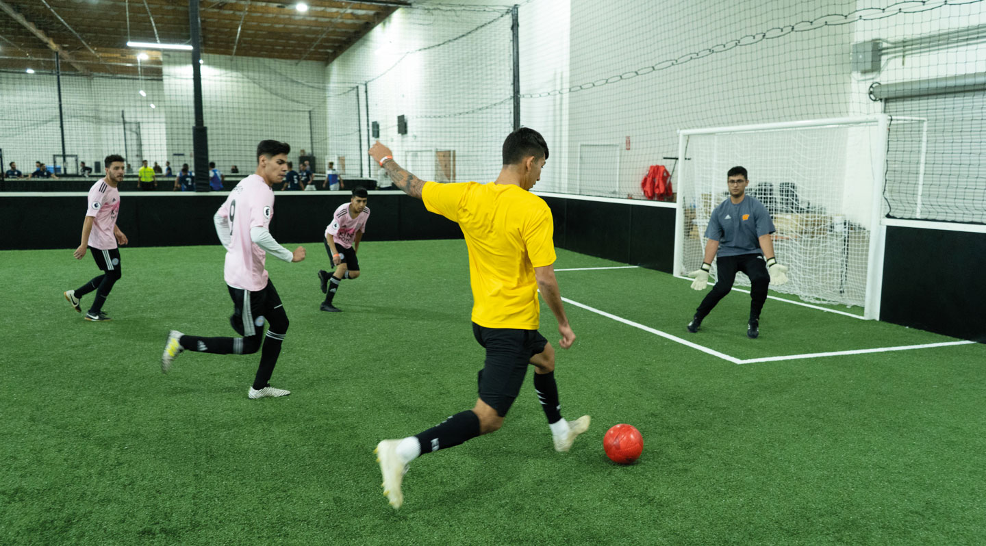 5-a-side soccer game